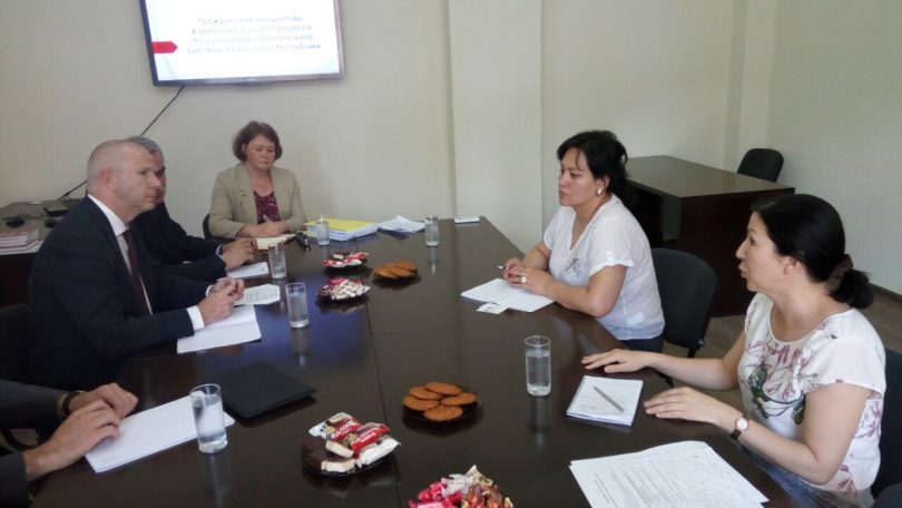 Head of PF «Civic Platform» Ainura Usupbekova met with Venice Commission  of the Council of Europe