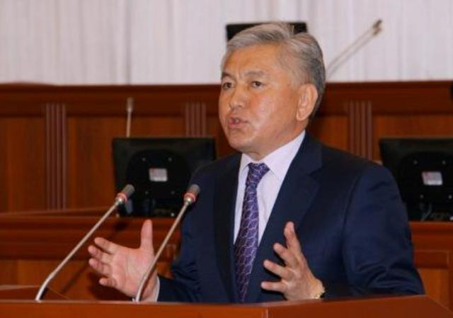 (English) Isa Omurkulov: SDPK leaves majority coalition in connection with irreconcilable political views