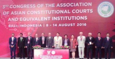 Делегация Кыргызстана приняла участие в Конгрессе Ассоциации азиатских конституционных судов и эквивалентных институтов