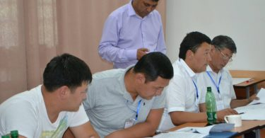 "In Issyk-Kul region third training was held for deputies of local councils on the project ""To the accountability of local development – by improving the legal capacity of deputies of local councils."""