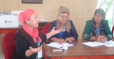 In the south of Kyrgyzstan a series of trainings was started for deputies of local councils