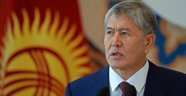 """Алмазбек Атамбаев: «Кыргызстан көздөгөн узак мөөнөттүү максаттарына жетишүүгө багытталган стратегиялык милдеттерди жүзөгө ашырыш керек"""""""