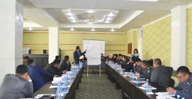 Trainings in Osh city for law enforcement officials of the Kyrgyz Republic on opposition of bribery of voters