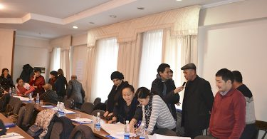 Training in Bishkek for members of local governments on opposition of voter bribery « Don't sell your voice!»