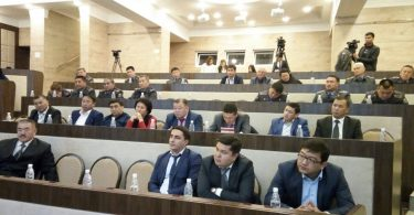 "Training – ""Interaction of law enforcement agencies on combating bribery of voters and organizing the issue of security during the elections to local councils in 2016 in Bishkek"""