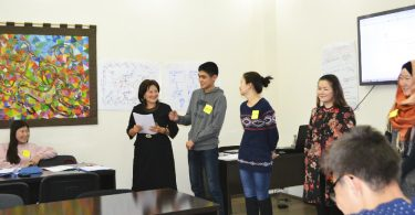 Training for students on opposition to bribery of voters