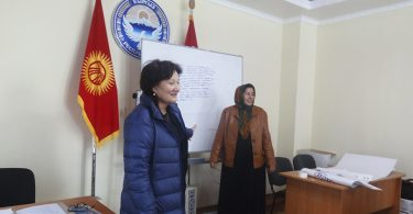 """Training for activists on combat bribery of voters on November 12, in Uzgen """