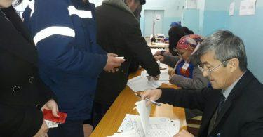 Кара-Көл шаарында референдумга жергиликтүү калктын 40%ы добуш берди