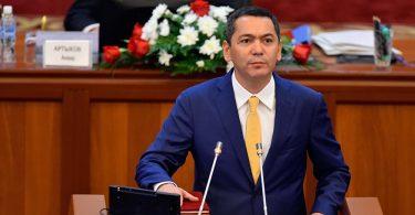 Омурбека Бабанова выдвинули кандидатом на пост президента Кыргызстана