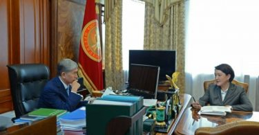 Election of President of Kyrgyzstan scheduled for November 19, 2017