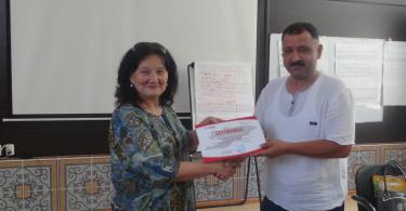 В городе Ош проведен тренинг для населения по избирательному процессу