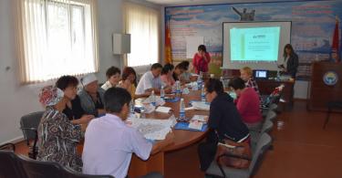 Тренинги по избирательному процессу в городах Кемин и Кант