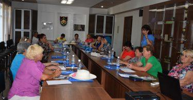 Тренинг по избирательному процессу в городе Кара-Балта