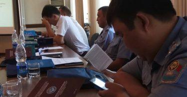 Бишкекте Чүй областынын укук коргоо органдарынын кызматкерлери үчүн тренингдер өткөрүлүп жатат.