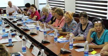 В Октябрьском районе столицы для домкомов прошло обучение по избирательному процессу