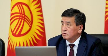 Zheenbekov said when he intends to leave the post of prime minister