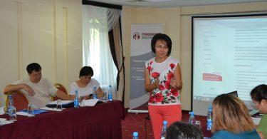 Бишкекте узак мөөнөттүү байкоочулар үчүн тренингдер өткөрүлүп жатат.