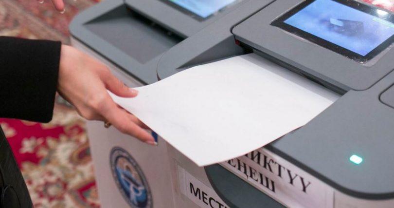 Выборы-2017. Вовремя голосования вне помещения возникли проблемы