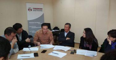 Поствыборная встреча в Бишкеке