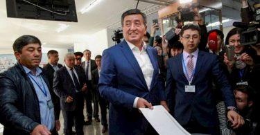 ЦИК официально признала победу Жээнбекова на выборах президента в Кыргызстане