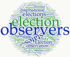 Observers can make photos and videos without violating secrecy of voting