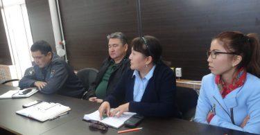 В городе Ош прошла поствыборная встреча с участниками избирательного процесса.