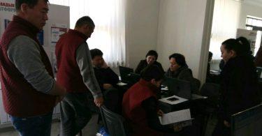 В день выборов в городах Бишкек и Ош работали два информационно — ресурсных центра ОФ «Гражданская платформа»