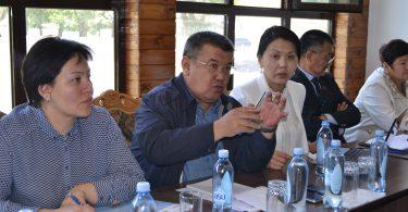Обсуждение проекта Стратегии в городе Нарын