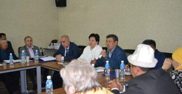 Первый региональный общественный диалог в городе Ош