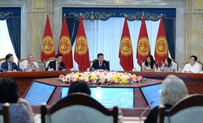 Чего ждут от встречи с президентом С.Жээнбековым представители НПО? Опрос