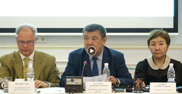 Кыргызстандын шайлоо мыйзамдарын өркүндөтүүгө арналган коомдук талкуу