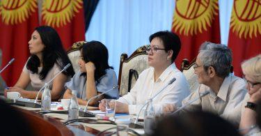 Президент С.Жээнбеков проводит встречу с представителями гражданского сектора.