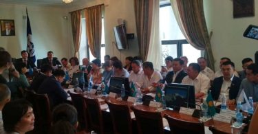 NGOs offered a number of initiatives to the Kyrgyz Parliament