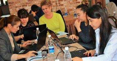 В Бишкеке прошел обучающий семинар по гражданскому участию в Открытом Правительстве и работе с данными