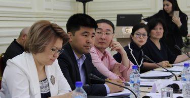 На круглом столе «Общественный диалог» участники обсудили новый проект закона «О политических партиях»