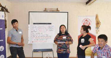 Эксперты ОФ «Гражданская платформа» успешно провели Школу Парламентаризма в городе Талас