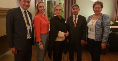 Айнура Усупбекова выступила на 23-м совещании ОБСЕ по вопросам человеческого измерения