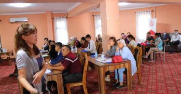 Тренинг в Джалал-Абаде для представителей НКО