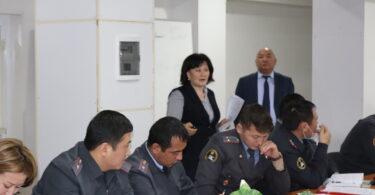 Тренинг для правоохранительных органов в Баткене
