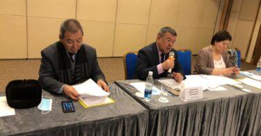 В Оше прошел общественный диалог для представителей штабов кандидатов на пост президента страны