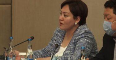Выступление Айнуры Усупбековой о пересмотре всех законов