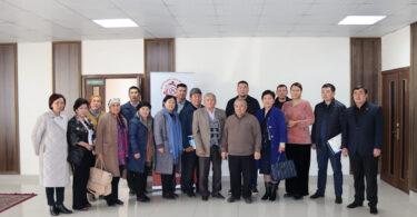В г.Талас местные власти и гражданское общество обсудили эффективность формирования местного бюджета