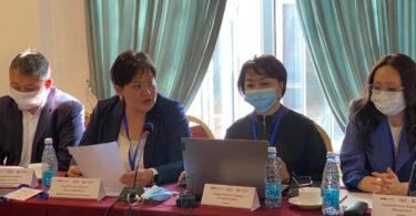 Двухдневный учебный курс по законотворческому процессу и официальному толкованию законов для сотрудников Аппарата Жогорку Кенеша Кыргызской Республики.